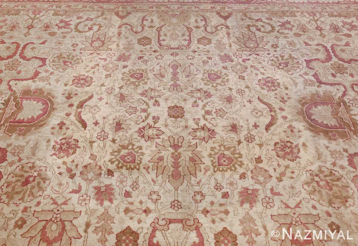 antique indian amritsar carpet 48002 top Nazmiyal
