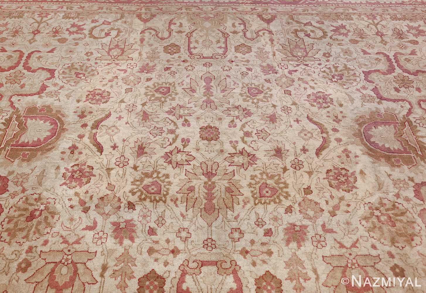 antique indian amritsar carpet 48002 top Nazmiyal
