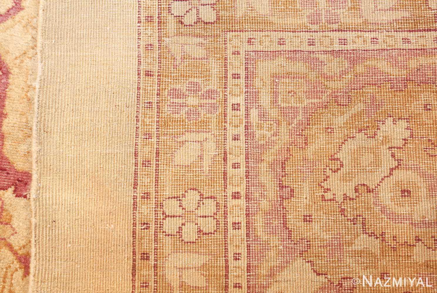 antique indian amritsar carpet 48002 weave Nazmiyal