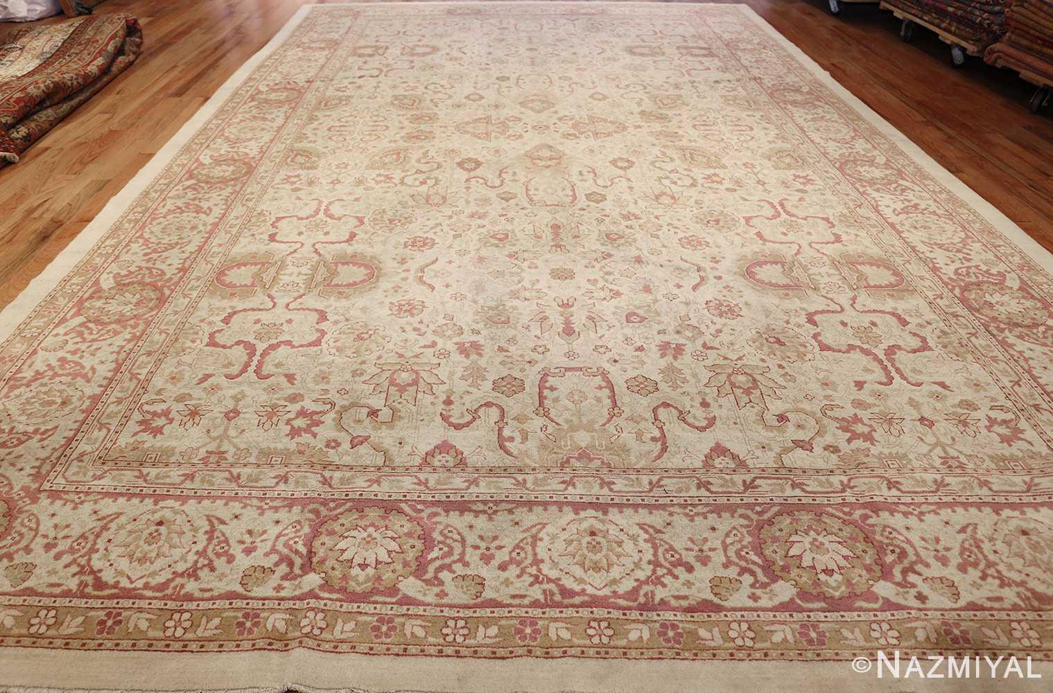 antique indian amritsar carpet 48002 whole Nazmiyal