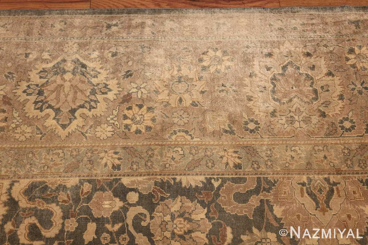 antique light blue indian rug 47602 border Nazmiyal