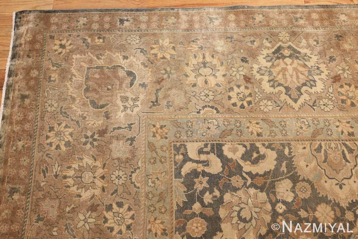 antique light blue indian rug 47602 corner Nazmiyal