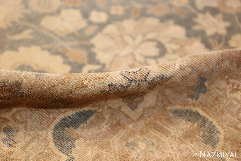 antique light blue indian rug 47602 pile Nazmiyal