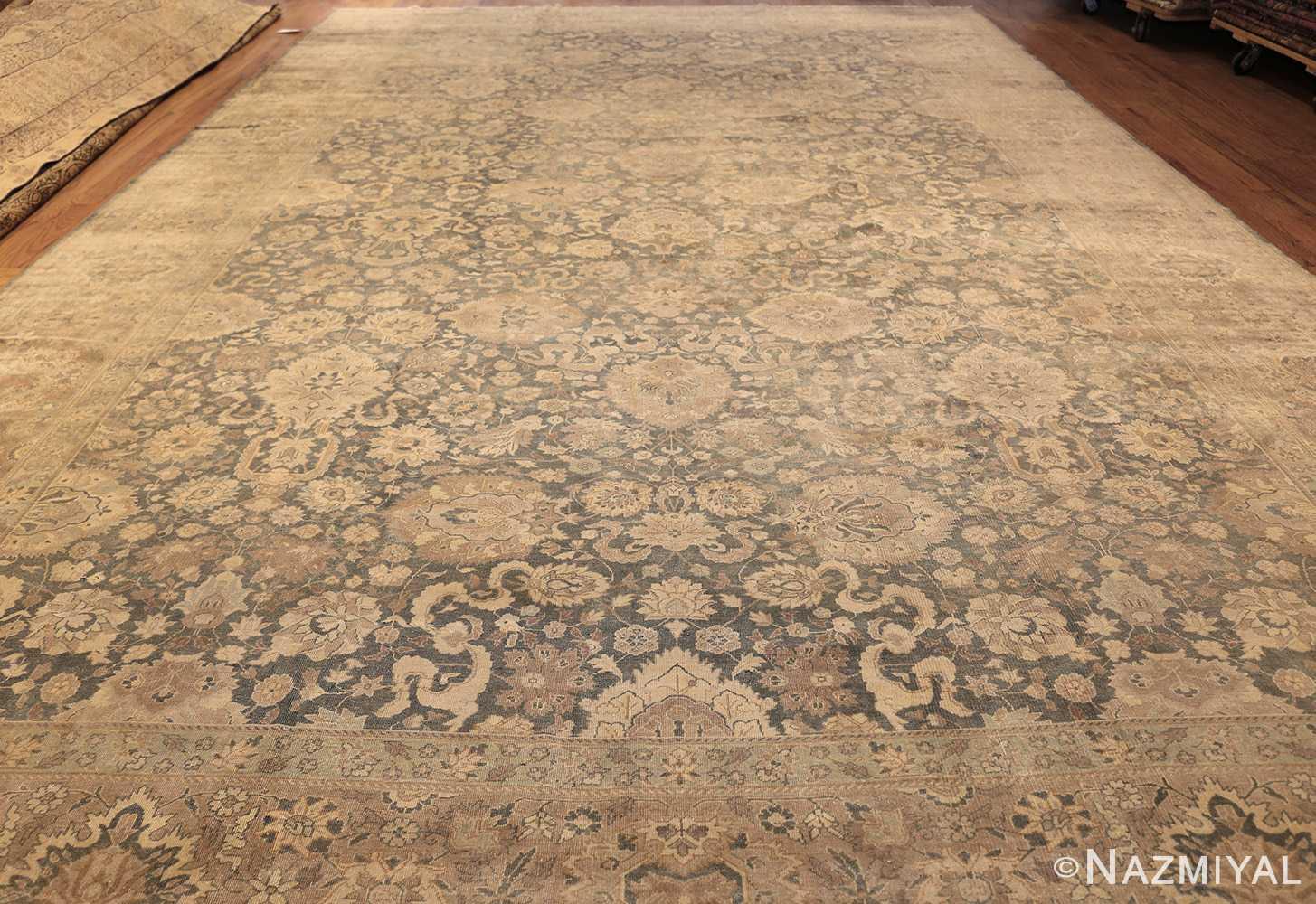 antique light blue indian rug 47602 whole Nazmiyal