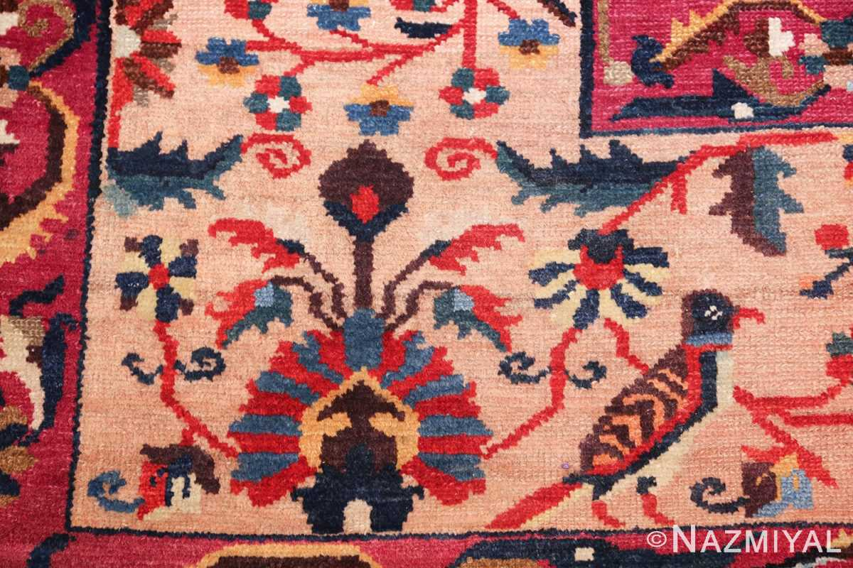 antique persian bakhtiari tree of life rug 48004 crow Nazmiyal