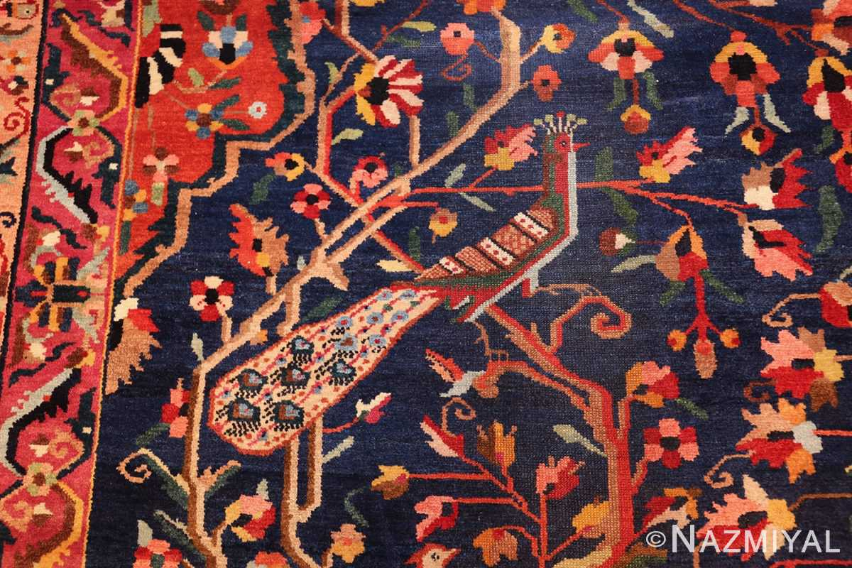 antique persian bakhtiari tree of life rug 48004 peacock Nazmiyal