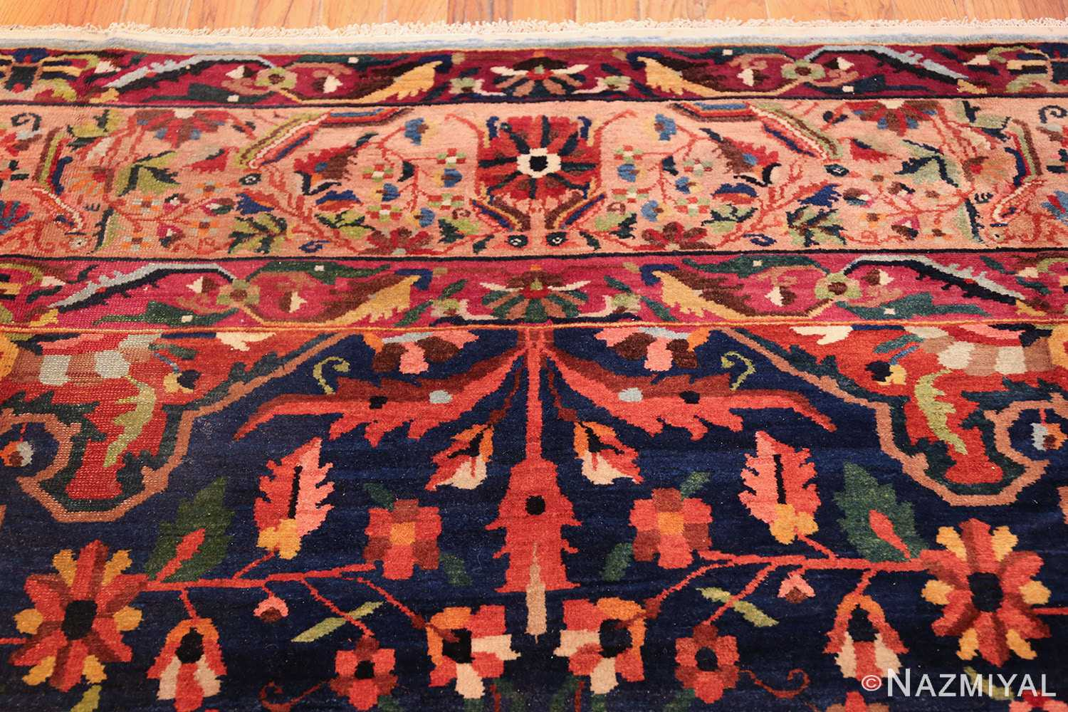 antique persian bakhtiari tree of life rug 48004 top Nazmiyal