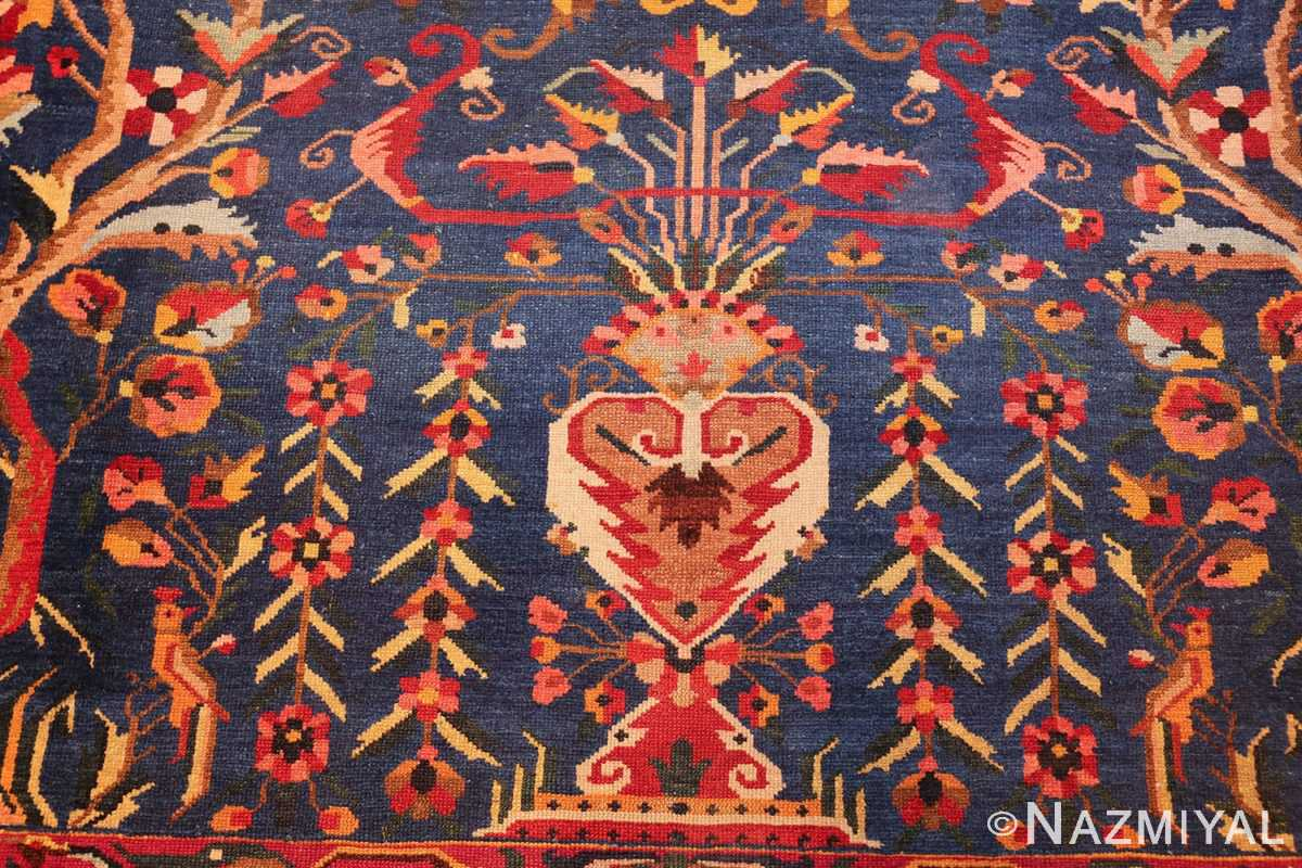 antique persian bakhtiari tree of life rug 48004 vase