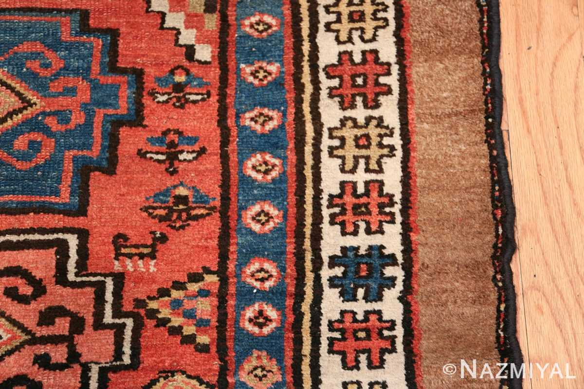 Antique Persian Northwest Rug 48027 Border Design Nazmiyal