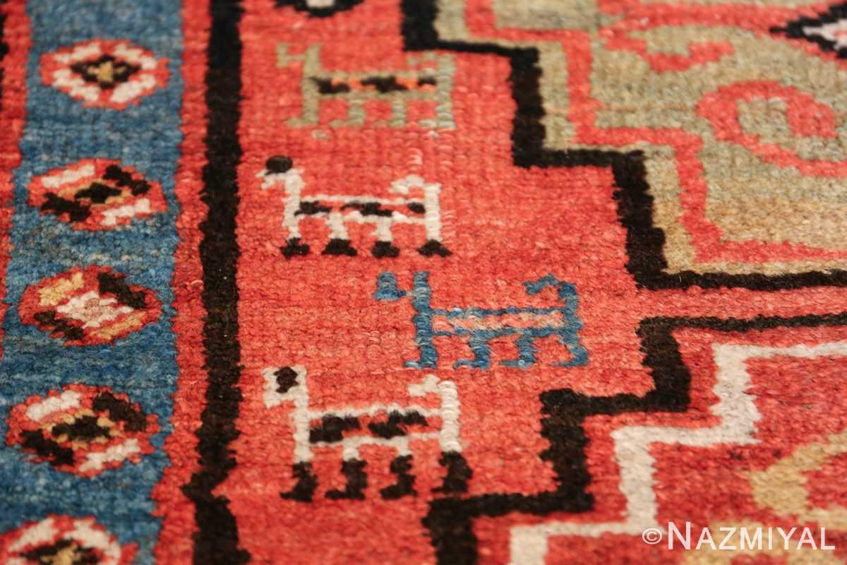 Antique Persian Northwest Rug 48027 Closeup Texture Nazmiyal