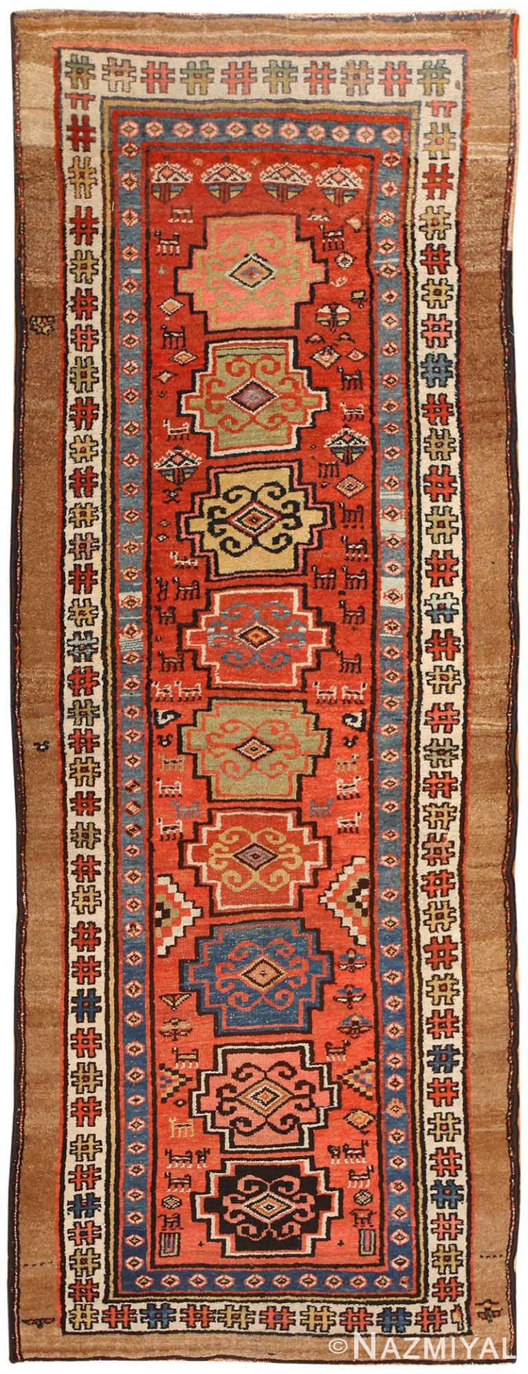 Small Tribal Antique Persian Northwest Rug 48027 by nazmiyal