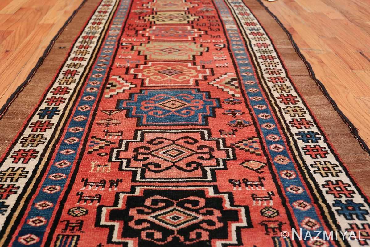 Antique Persian Northwest Rug 48027 Field Design Nazmiyal