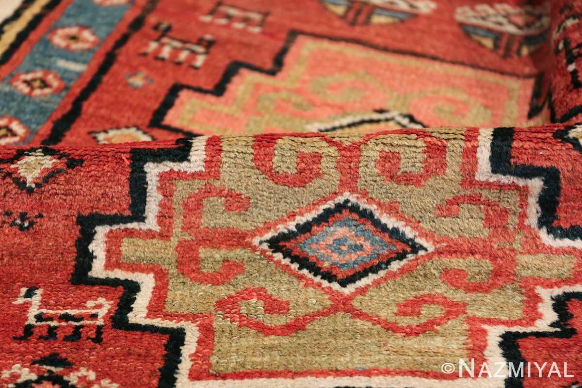 Antique Persian Northwest Rug 48027 Green Pile Nazmiyal