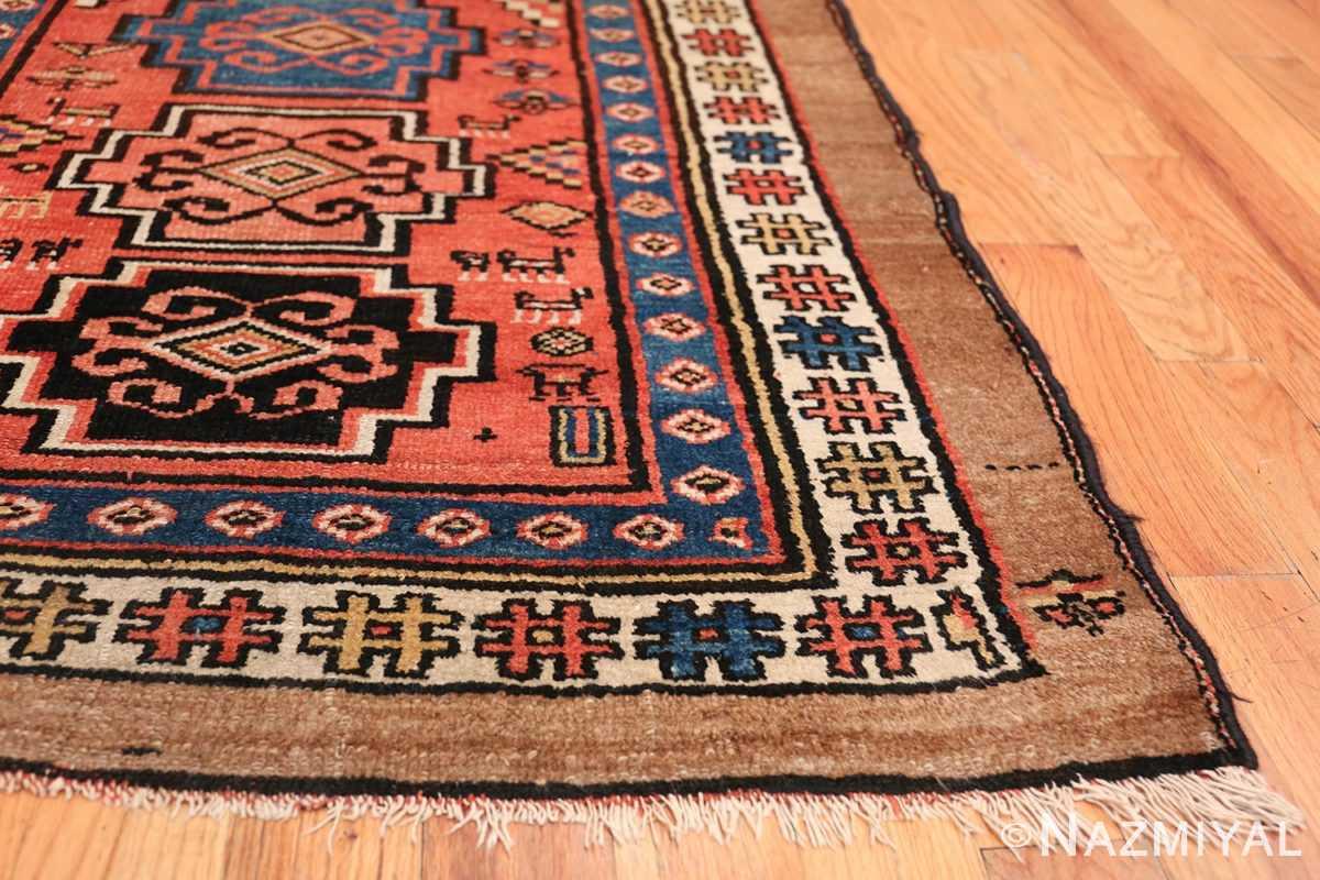 Antique Persian Northwest Rug 48027 Side Corner Nazmiyal