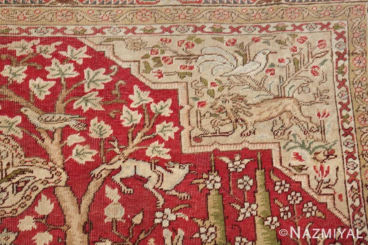 Antique Turkish Keysari Rug 47704 Design Side Nazmiyal