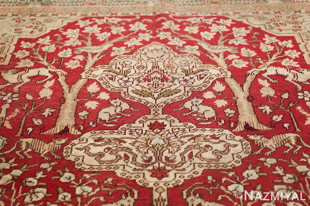 Antique Turkish Keysari Rug 47704 Tiara Nazmiyal