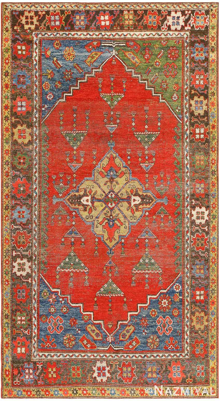 Antique Turkish Konia Rug 47394 Detail/Large View