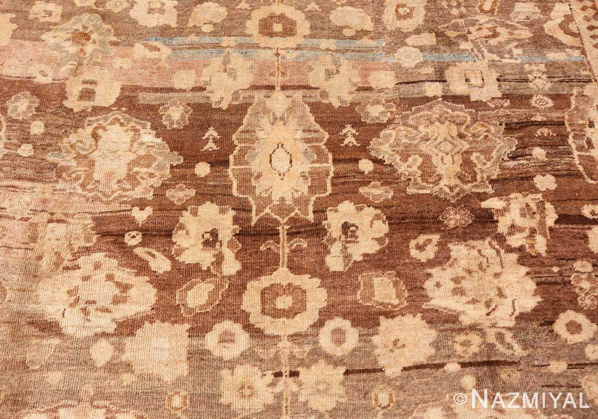 Close-up Antique Persian Sultanabad rug 47464 by Nazmiyal