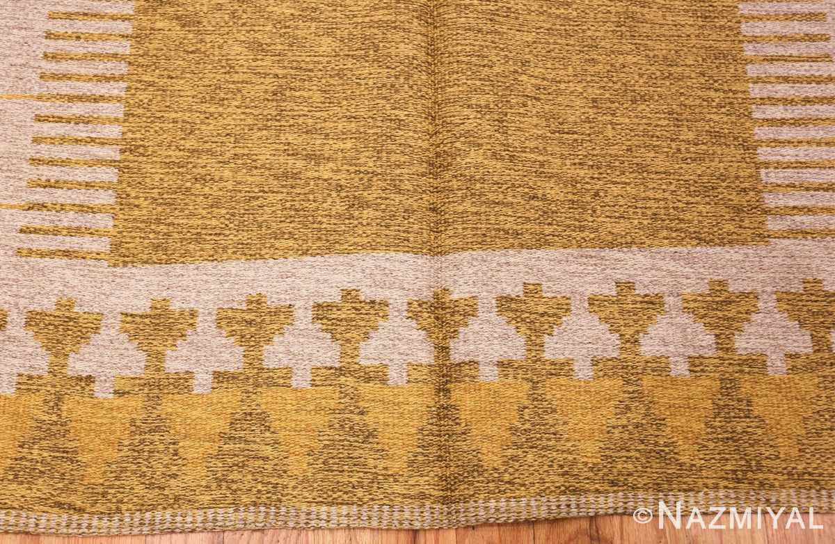 vintage double sided swedish kilim rug 48053 top Nazmiyal