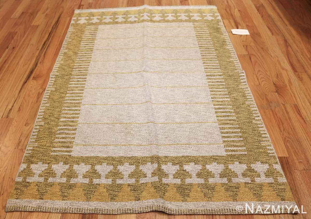 vintage double sided swedish kilim rug 48053 whole Nazmiyal