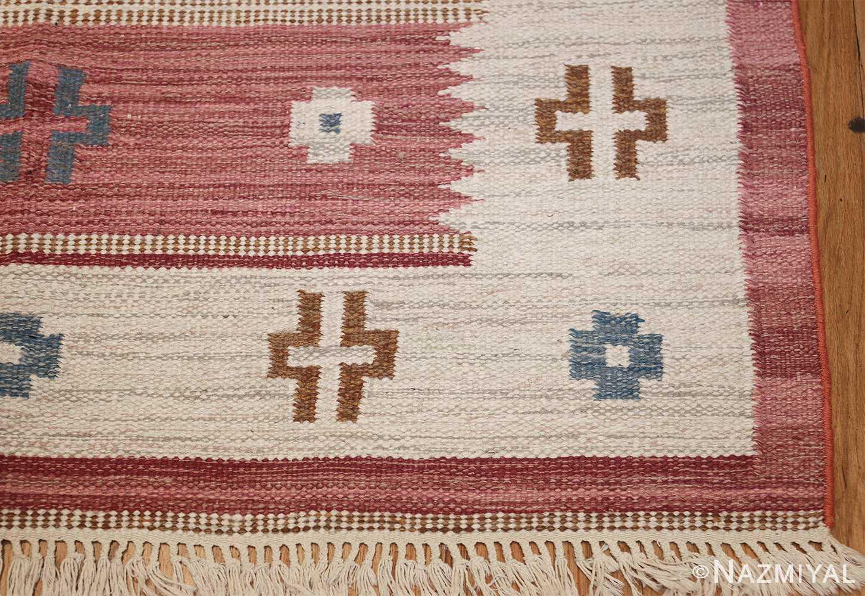 vintage swedish kilim by svensk hemslojd 48049 corner Nazmiyal