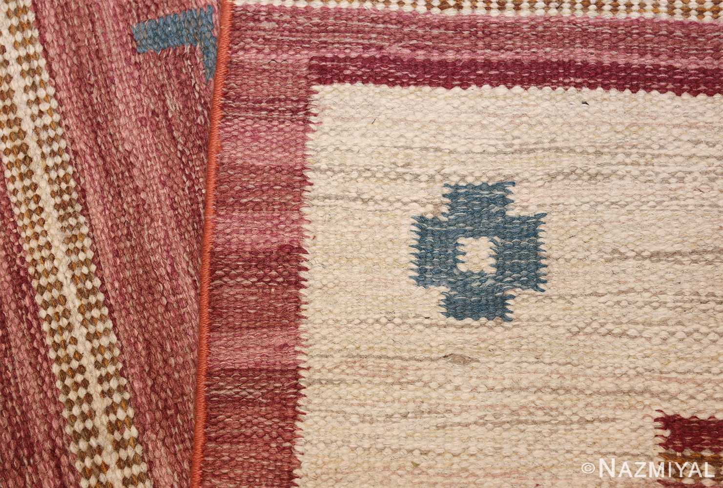 vintage swedish kilim by svensk hemslojd 48049 knots Nazmiyal
