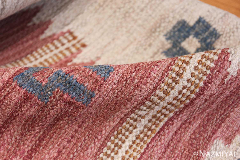 vintage swedish kilim by svensk hemslojd 48049 pile Nazmiyal
