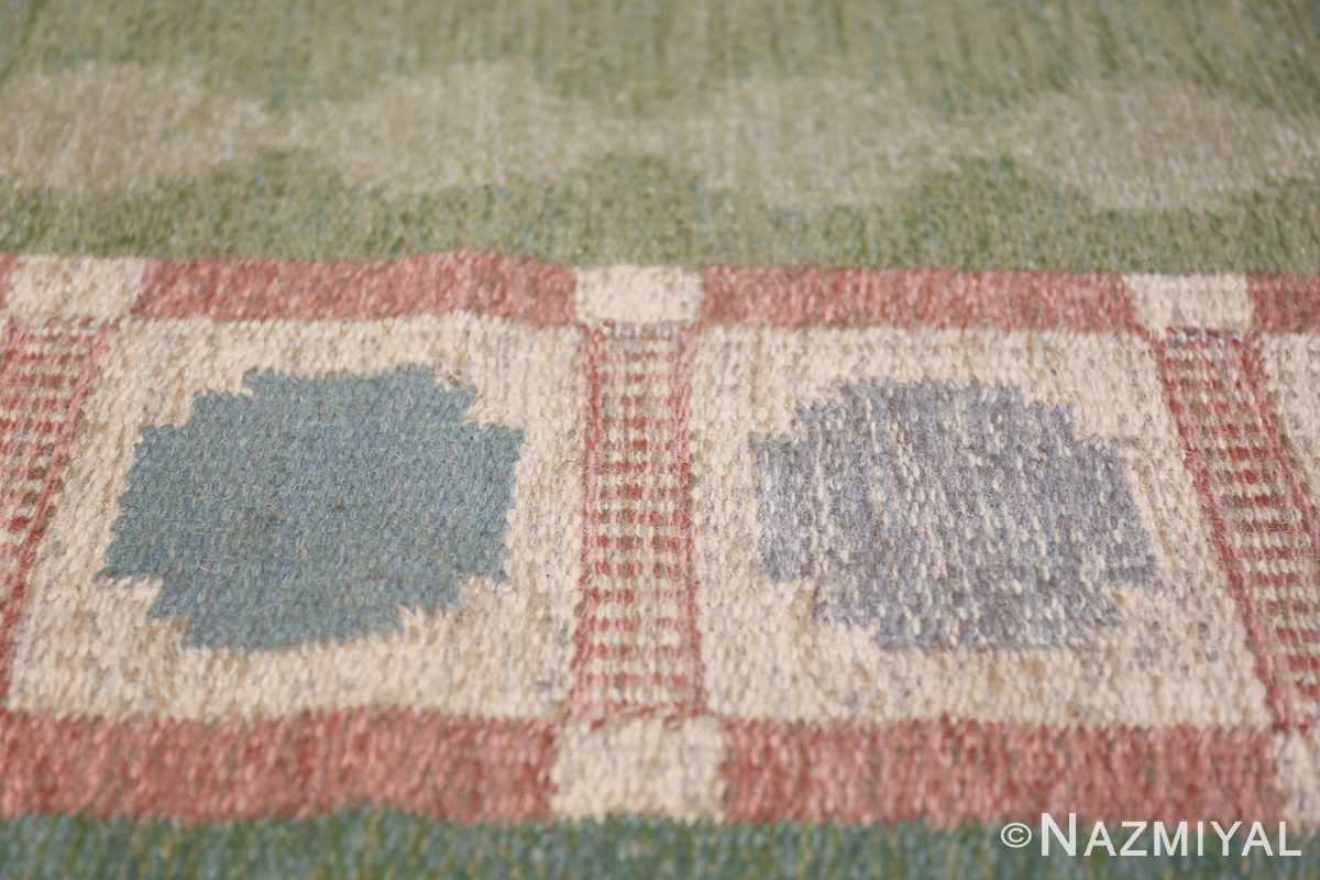 Vintage Swedish Rug by Anna Johanna Angstrom 48048 Border Nazmiyal