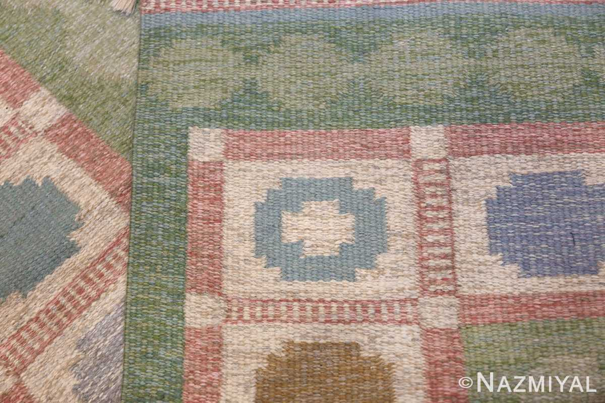 Vintage Swedish Rug by Anna Johanna Angstrom 48048 Knots Woven Nazmiyal