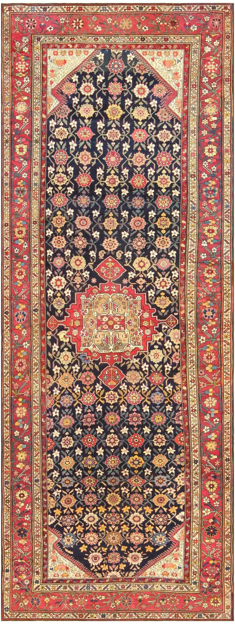 Antique Caucasian Karabagh Rug 48096 Nazmiyal