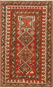 Antique Caucasian Shirvan Rug 47450 Detail/Large View