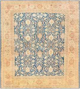 Antique Persian Sultanabad Rug by Zigler 47111 Detail/Large View
