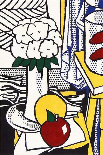 Pop Art Roy Lichtenstein Rugs by Nazmiyal