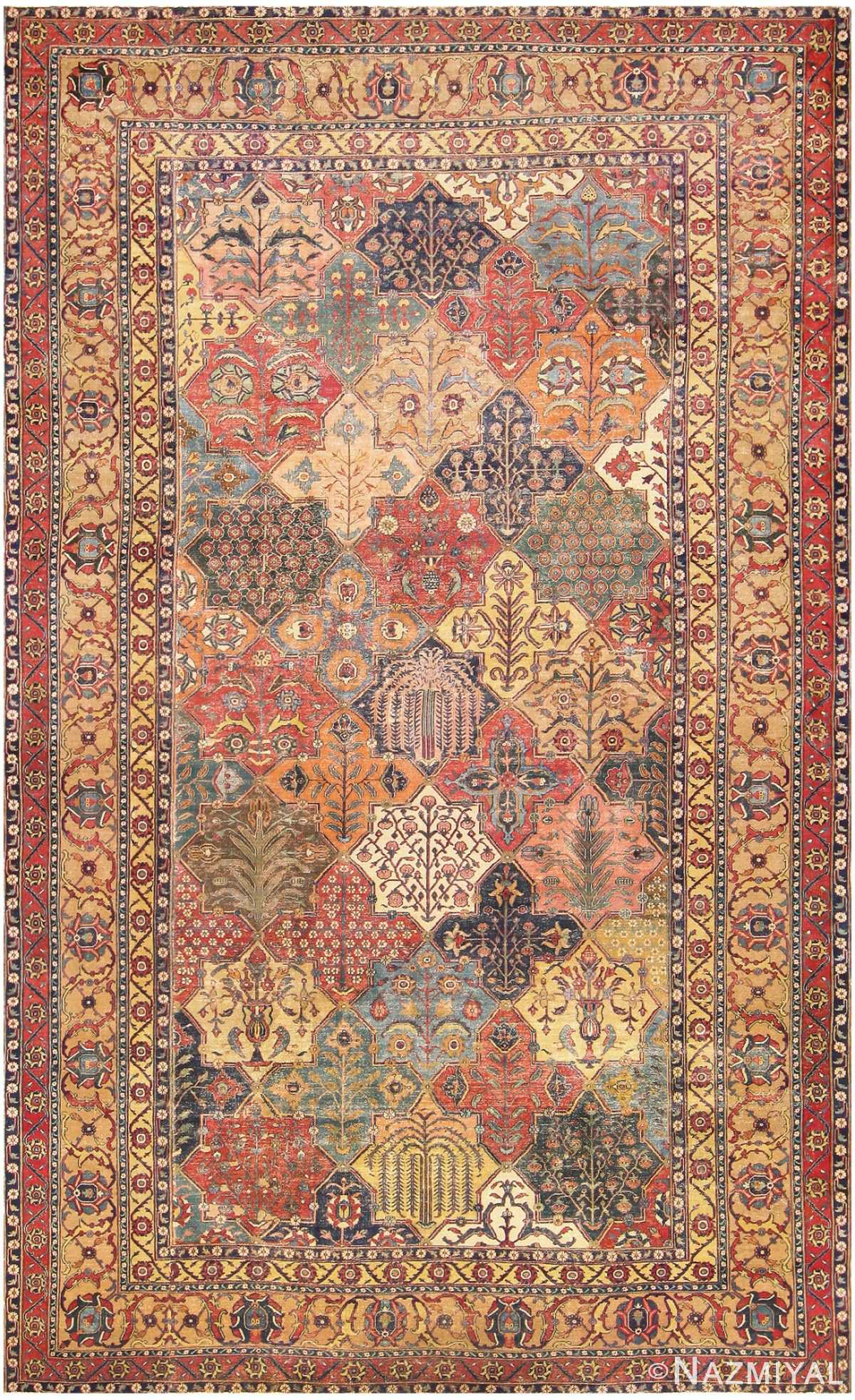 17th Century Persian Khorassan Carpet 47074 by nazmiyal