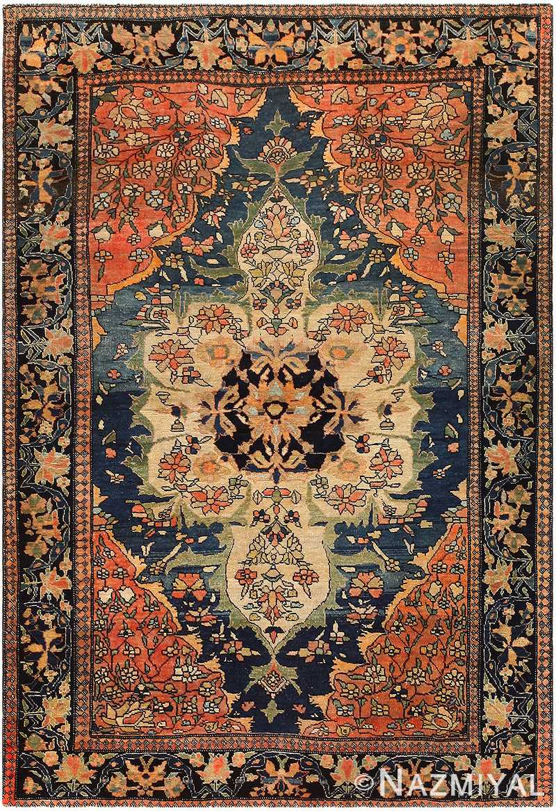 Anique Persian Faharan Sarouk Rug 48101 By Nazmiyal Nyc