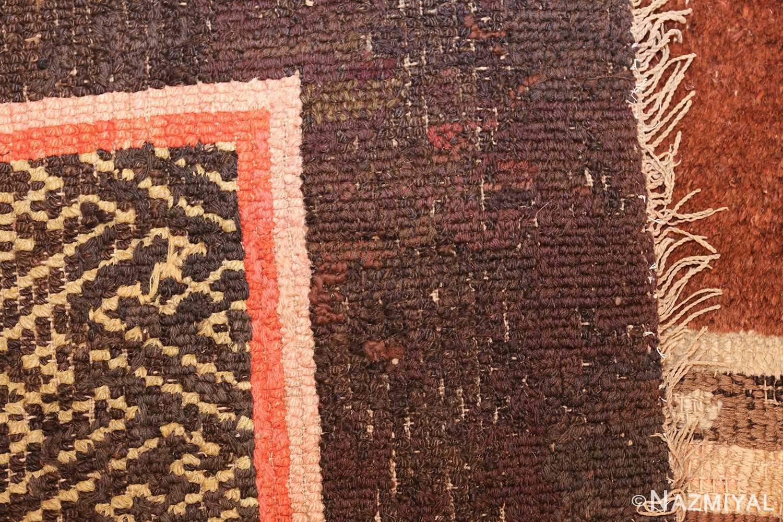 antique 17th century chinese fu dogs rug 48031 weave Nazmiyal