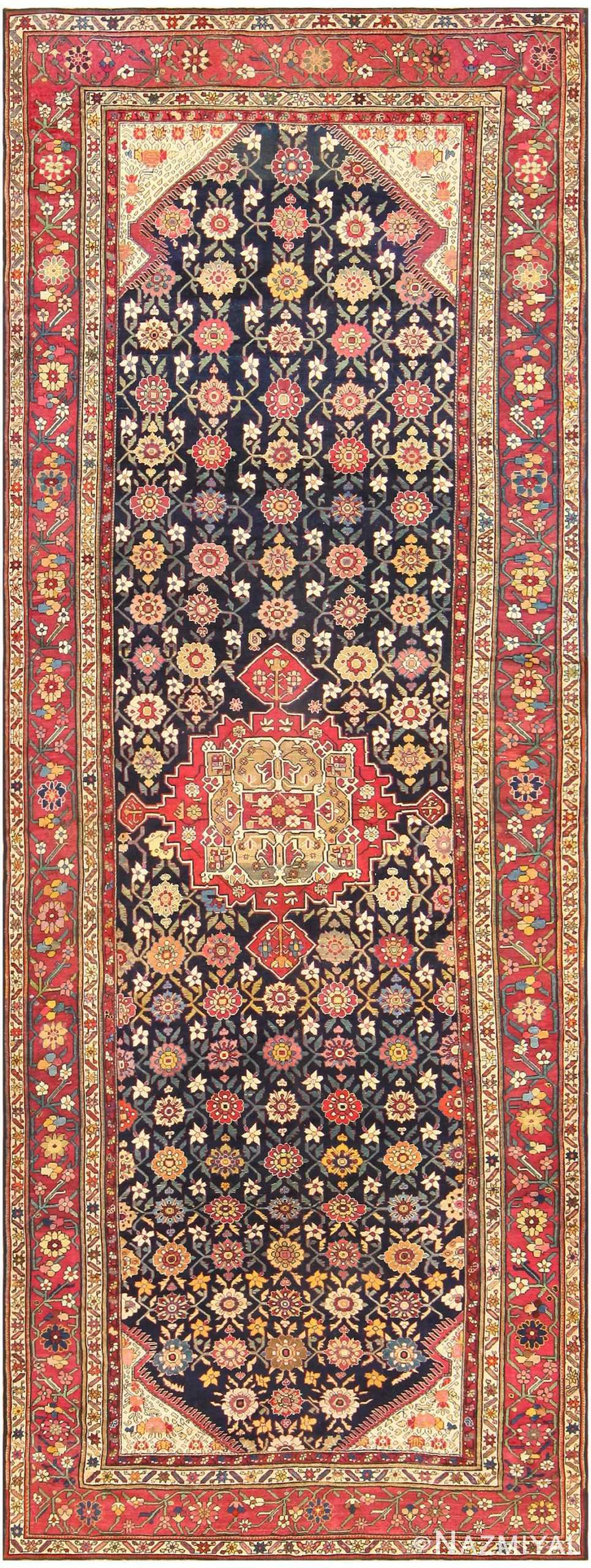 Antique Caucasian Karabagh Rug 48096 Nazmiyal