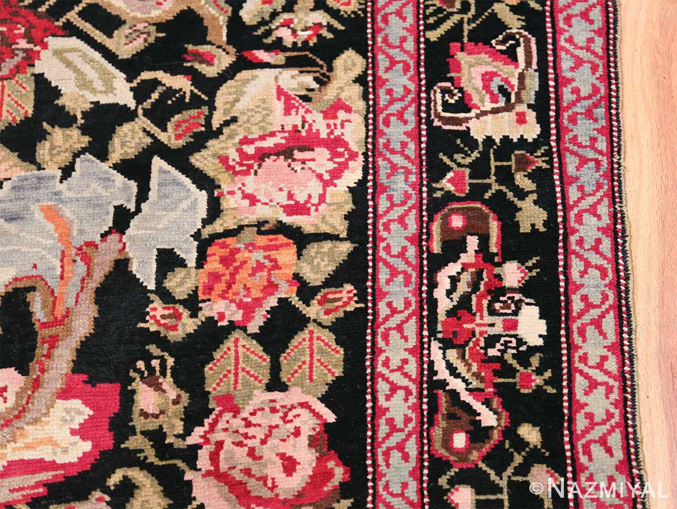 Antique Caucasian Karabagh Runner Rug 48149 Border Design Nazmiyal