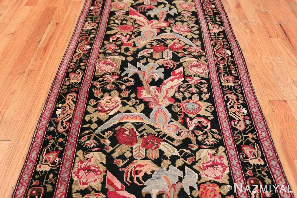 Antique Caucasian Karabagh Runner Rug 48149 Field Design Nazmiyal