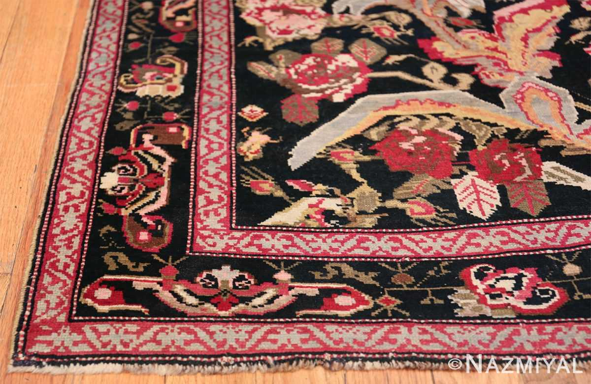Antique Caucasian Karabagh Runner Rug 48149 Side Corner Nazmiyal
