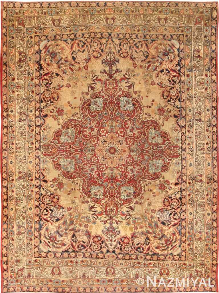 Antique Kerman Persian Rug 40523 Detail/Large View