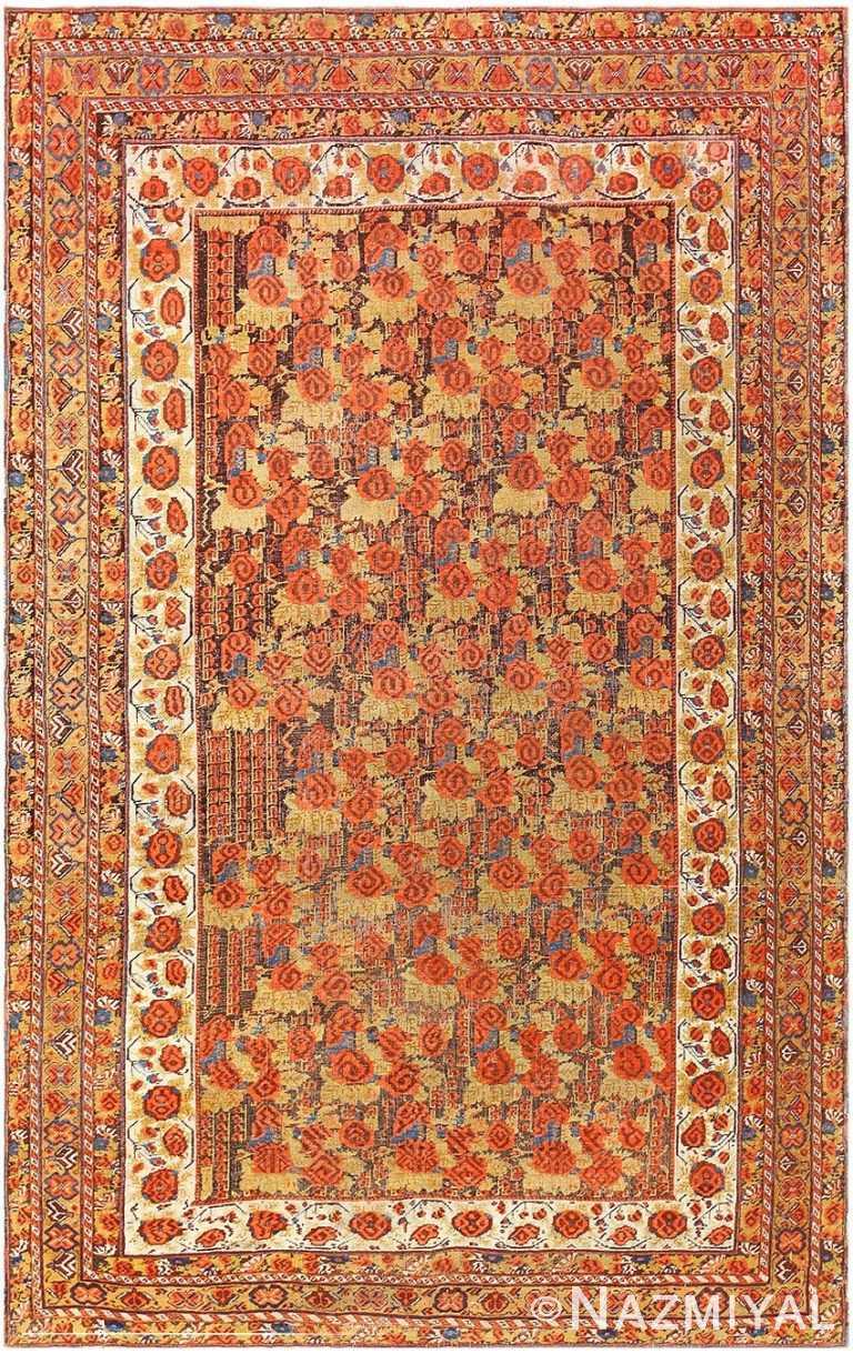 Antique Persian Afshar Carpet 48041 by Nazmiyal