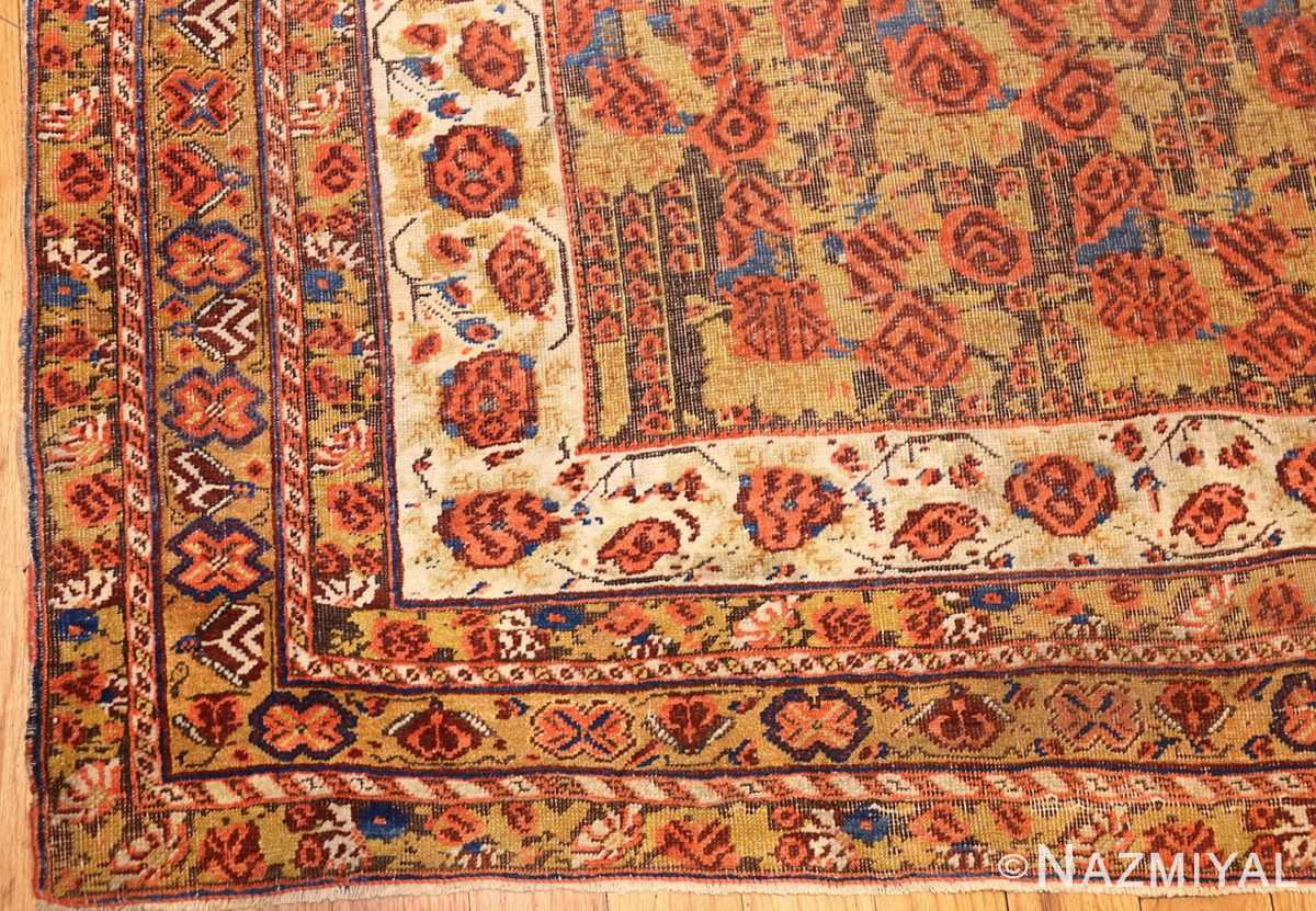 antique persian afshar rug 48041 corner Nazmiyal