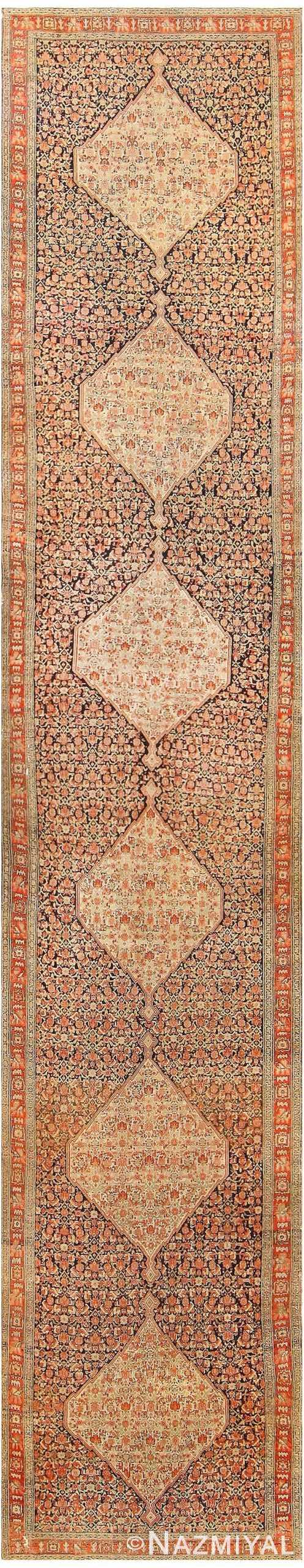 Antique Persian Senneh Runner Rug 48089 by Nazmiyal