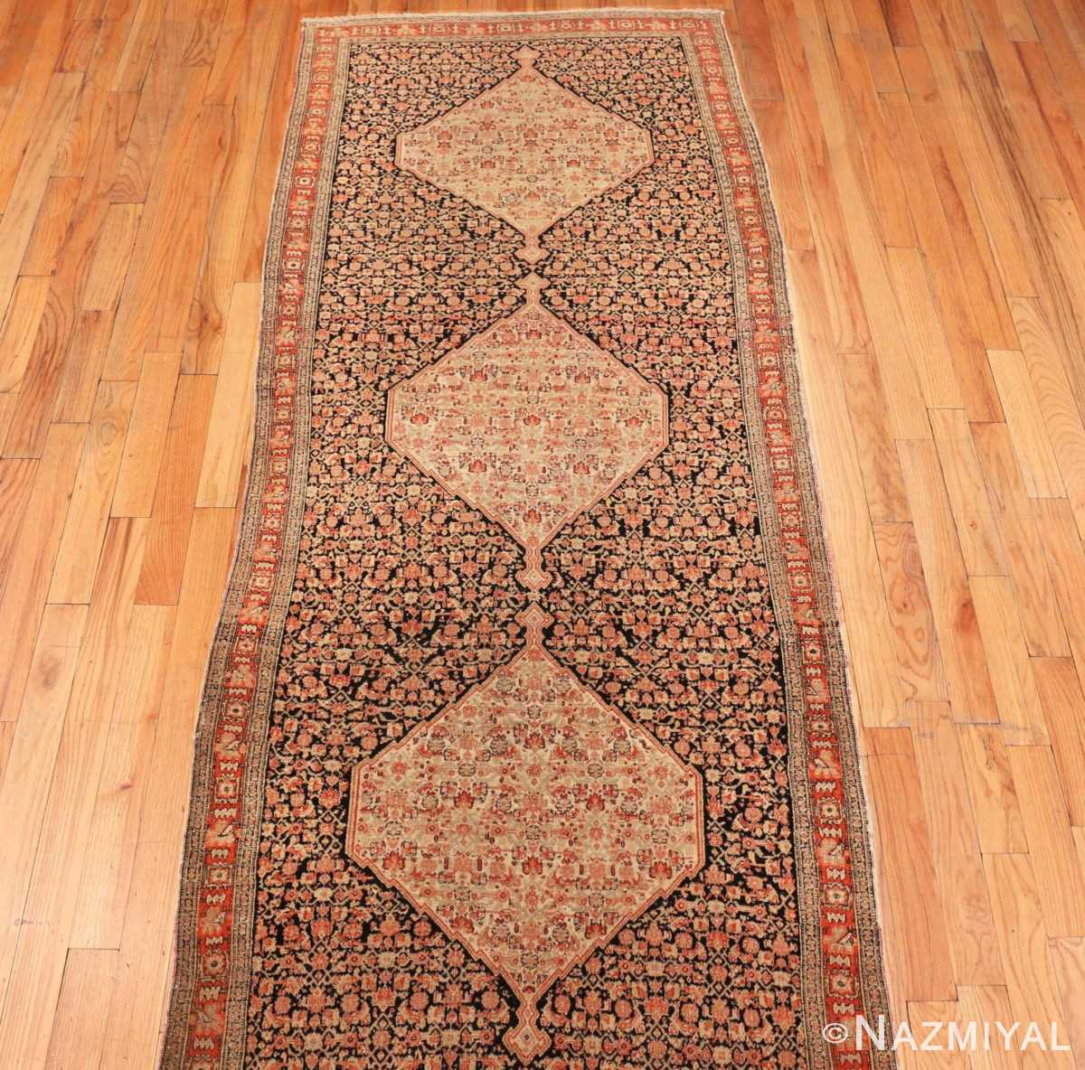 Picture of the Front of Antique Persian Senneh Runner Rug 48089