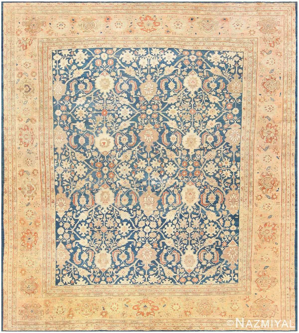 Vintage Persian Rugs: Antique Persian Sultanabad Rug 47111 By Nazmiyal Collection