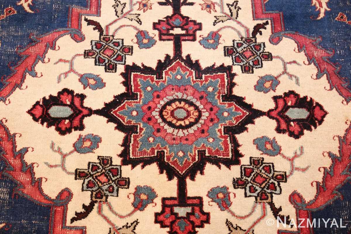 antique shabby chic persian khorassan rug 48035 middle Nazmiyal