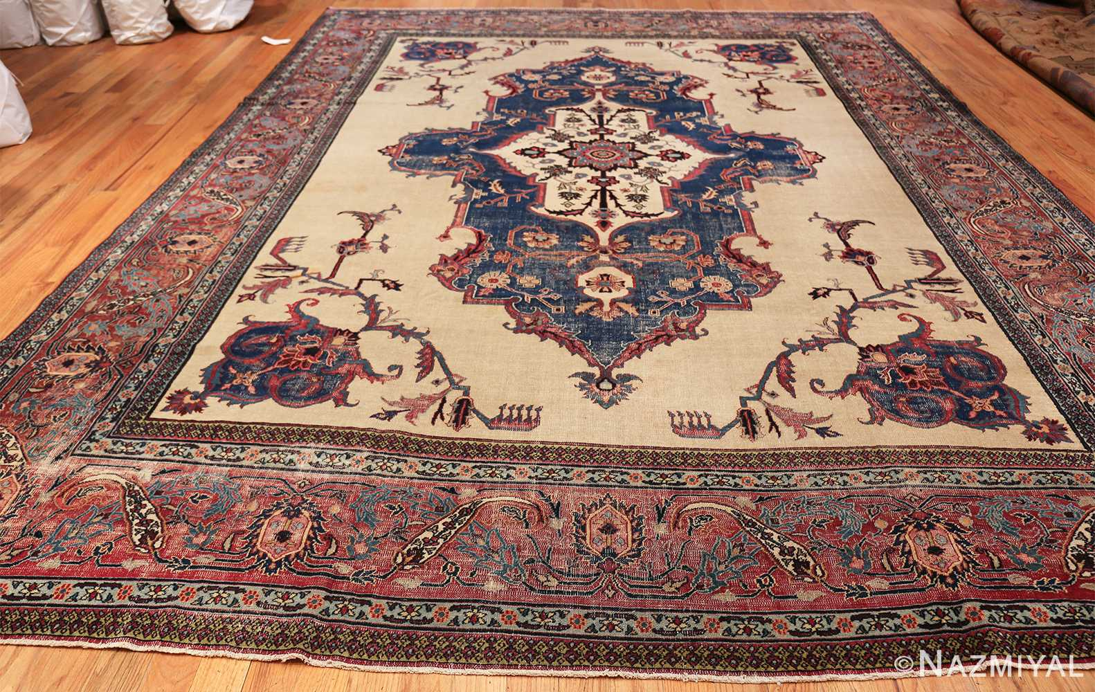 antique shabby chic persian khorassan rug 48035 whole Nazmiyal