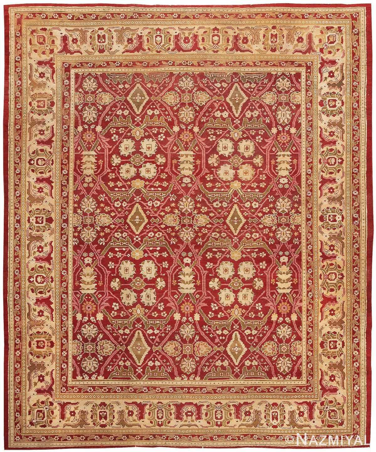 Oriental Antique Amritsar Rug 1891 Detail/Large View