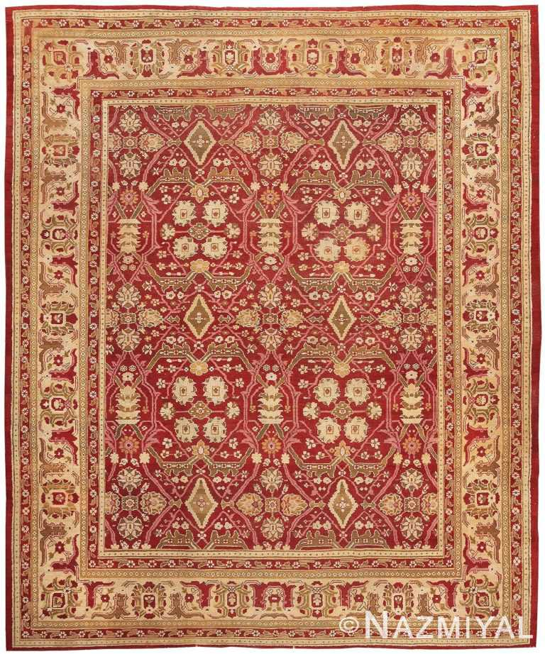 Oriental Antique Amritsar Rug 1891 Detail/Large View